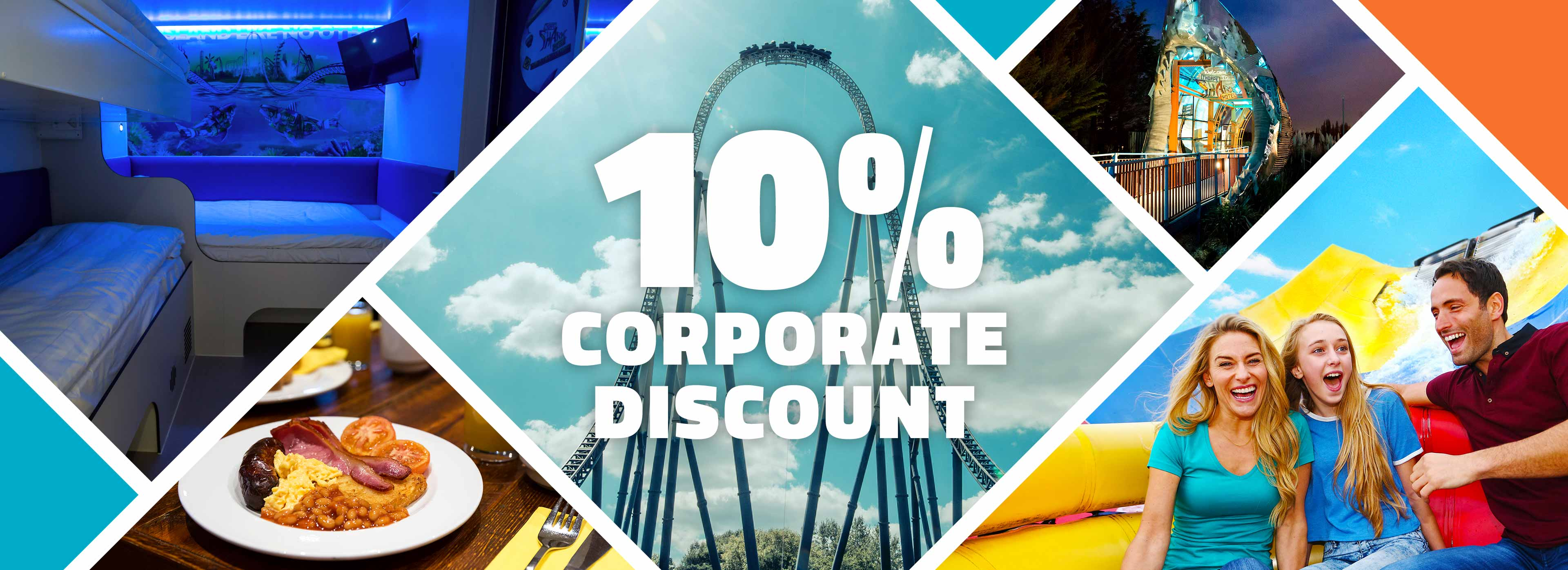 10% Corporate Discount with THORPE Breaks