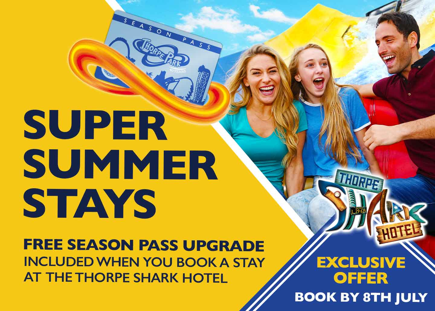 Super Summer Stays Offer with Thorpe Breaks