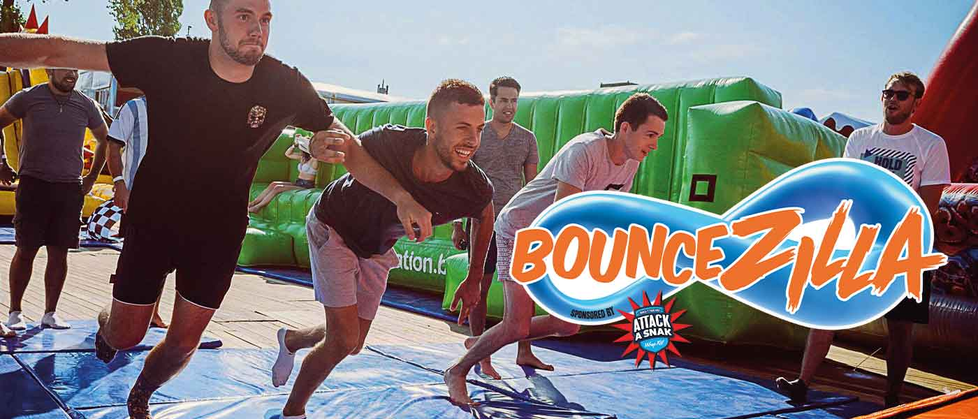 BounceZilla at Thorpe Park Resort