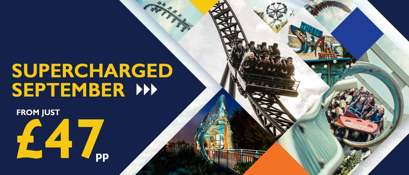 Supercharged September at Thorpe Park Resort